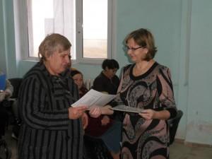Връчване на Удостоверение за професията Социален асистент